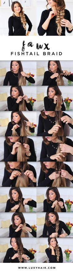 Are you struggling to create a fishtail braid on yourself? Well...you've come to the right place. You are going to love me for filming this hair tutorial. Basic