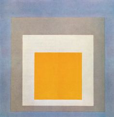 """cavetocanvas: """"Homage to the Square: Ascending - Josef Albers, 1953 """""""
