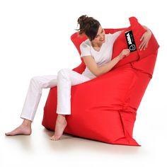 Pufa Matt Ress to duża pufa w kształcie wielkiej poduszki. Doskonała do… Bean Bag Chair, Pajama Pants, Pajamas, Furniture, Design, Home Decor, Fashion, Pjs, Moda