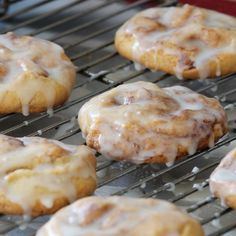 These large cookies have all the ingredients of a cinnamon roll - cinnamon, sugar, and butter. Great in the morning for breakfast or for a snack!