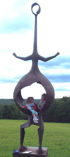 Griffis Sculpture Park in Ashford Hollow, NY