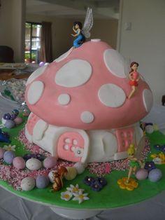 Tinkerbell cake idea