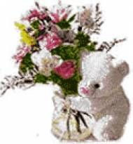Send Online Mixed Flower With Teddy To Pune Delivery Fast And Same Day Gifts All Location In