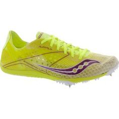 Saucony Endorphin LD4 Spike  Saucony Women s Running Shoes Citron White Pink  Deals on b3967ca92b