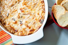 Hot Caramelized Onion Dip with Bacon Gruyere Dip | 15 Savory Dips for Memorial Day