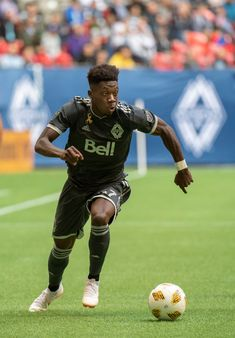 399e67daa0c Alphonso Davies of the Vancouver Whitecaps against FC Dallas at BC Place on  September 2018 in Vancouver
