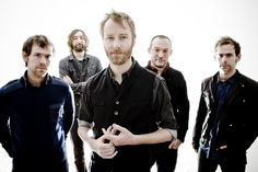 The National - a recent fav. Muscular, melancholic indie pop/rock with heart.