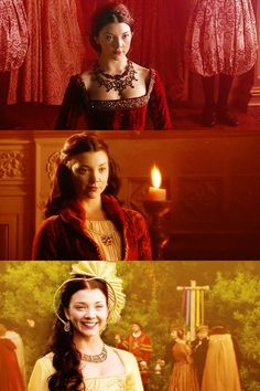 ANNE BOLEYN - BRILLIANTLY PLAYED BY NATALIE DORMER.