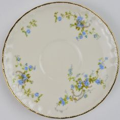 Pope Gosser | Fleurette Pattern, Saucer, Replacement China - (Need 4)