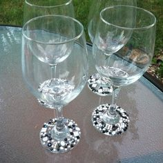 Bedazzled Wine Glasses | DIY Rhinestone Wine Glasses | Accomplishment or Failure?