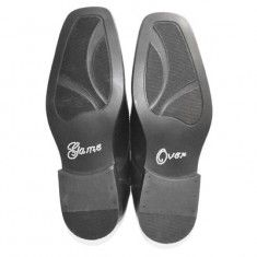 Game over stickers for steve's shoe. Not in a church so no one would see them as no bending down!
