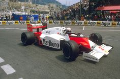 1985 GP Monaco (Alain Prost) McLaren MP4/2B -TAG Porsche