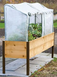 Planter Box, Frame and 2 Covers Kit, 2' x 8'