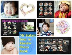 Photo Book Baby's First Year in Review – PhotoBookGirl.com