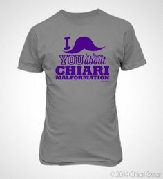 """Our line of Chiari Malformation Gear: I """"Mustache"""" You includes hoodies, sweatshirts, short sleeve t-shirts, long sleeve t-shirts and ladies v-neck t-shirts. Brain Diseases, Chiari Malformation, Lady V, Fibromyalgia, V Neck T Shirt, Mustache, Sweatshirts, Mens Tops, Purple"""