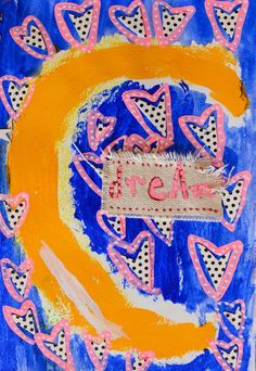 The Rosy Life: Art journal and new prints in shop! (oh, and Christmas too)