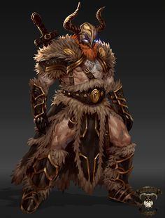 ArtStation - Viking concepts-Valhalla Immortals, George Stratulat