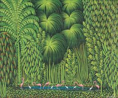 ...teeming      Henri Robert Bresil, Haiti, ca. 1980