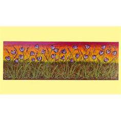 """Quadri Moderni """"Distesa di tulipani viola"""" Acrilico spatolato in rilievo su tela. Il quadro rappresenta una distesa di tulipani su uno sfondo paesaggistico dai colori caldi. Pietre decorative, graniglie e perline ne ravvivano il contenuto e accentuano la luminosità. Il Quadro moderno floreale, dai toni paesaggistici e dalle caratteristiche in rilievo, arreda con vivacità e armonia ambienti moderni e anche tipicamente etnico-rustici... Nei vostri living preferiti!!!"""