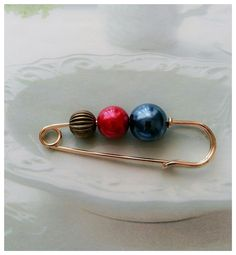 6cm Long Gold Tone Safety Pin Brooch~Scarf/Shawl/Hijab Pin/Kilt Pin in Jewellery & Watches, Costume Jewellery, Brooches & Pins | eBay!