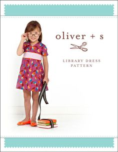 Oliver and S PATTERN - Library Dress - SZ 5-12