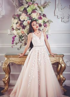 Looking for a delicate but elegant quinceanera dress? This blush dress is the perfect dress for your princess. The perfect prom dress, quince dress, or wedding dress. Blush Prom Dress, Blush Gown, Blush Dresses, Bridesmaid Dresses, Prom Dresses, Wedding Dresses, Rent Party, Quince Dresses, Perfect Prom Dress