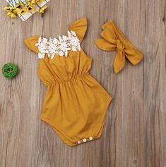 Online shopping for Bodysuit with free worldwide shipping Baby Outfits, Body Suit Outfits, Cute Girl Outfits, Kids Outfits Girls, Cute Outfits For Kids, Baby Girls, My Baby Girl, Baby Girl Newborn, Baby Girl Romper