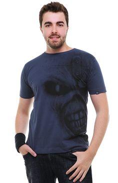 Camiseta Gola Redonda - Iron Maiden (http://santorock.com/p/camiseta-gola-redonda-santo-rock-iron-maiden/)