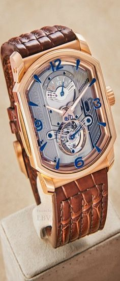 Chopard ♥✤L.U.C Engine One Tourbillon Watch