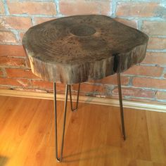 Walnut sidetable