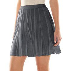 LC Lauren Conrad Pieced Skater Skirt - Women's