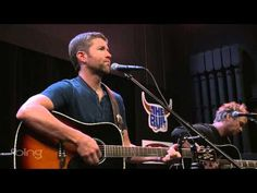 Josh Turner - Your Man (Bing Lounge) - YouTube. What a wonderful deep voice!