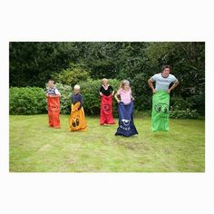 Sack race game