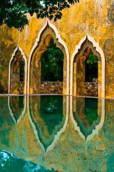 Reflections of Merida, Mexico