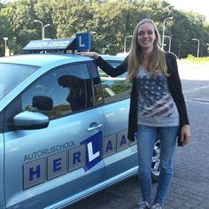 Geslaagd bij #Autorijschool Herlaar #Assen #rijles #rijschool www.autorijschool-herlaar.nl