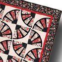 Fan Dance Quilt by Nancy Mahoney