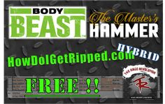 Free ultimate mass gain hybrid with Body Beast and Hammer workouts from Hammer and Chisel! http://howdoigetripped.com/free-body-beast-hammer-hybrid/