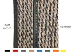 Our custom car mats are made JUST for you! You pick the weave & the stitching color, as seen below. So many options! Custom Car Mats, Custom Cars, Luxury Cars, Weave, Stitching, Just For You, Seen, Twitter, Color