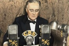 -primary uses of media were newspapers and radio -FDR fireside chats's were his way to occasionally communicate with the public -was a more personal than a speech or a reporters writings in a newspaper -is similar to how social media is utilized in a personal manner today