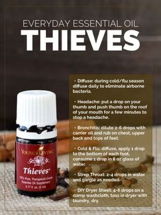 Young Living Essential Oils: Everyday Oils Essential Collection Thieves by winnie #YoungLivingEssentials