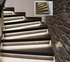 Extrem Die 28 besten Bilder von Treppenrenovierung Holztreppe Steintreppe YV74