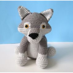 Presenting Gabriel the Grey Wolf! *Skill Requirements* - Single Crochet - Increasing - Decreasing - Color Changes - Color Changes while decreasing There are several pages of instructions, tips and pictures to help you finish your stuffed animal. I have tutorials on everything you will need to know to complete this project on my blog. www.adrialyshc.blogspot.com *Copyright* You may NOT sell, redistribute, or publish this pattern or parts of this pattern. You MAY sell finished products made…