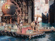 Universal Studios Los Angeles Waterworld