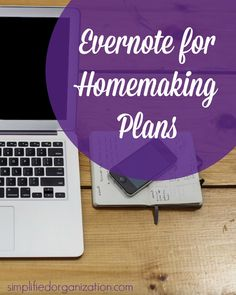 If you want to keep track of your responsibilities, you need Evernote for homemaking. Evernote is a useful tool for moms to organize home and life.