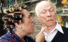 "Last of the Summer Wine (BBC) ""Nora Batty "" scolding ""Alvin"", (Brian Murphy)"