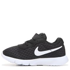 Nike Kids' Tanjun Running Shoe Toddler Shoes (Black/White) - M Ankle Sneakers, Sneakers Looks, Sneakers For Sale, Classic Sneakers, Slip On Sneakers, Leather Sneakers, Sneakers Design, Shoe Stores Near Me, Kids Shoe Stores
