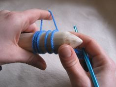 Broomstick Lace Tutorial - best tutorial for this I have seen