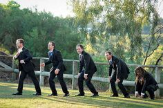 42 Impossibly Fun Wedding Photo Ideas You'll Want To Steal-- this is hilarious!