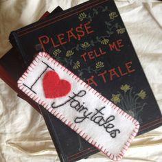 Felt Bookmark for Booklovers & Bedtime Stories by Welsheggdesigns, £4.50