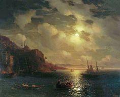 The Bay Golden Horn in Istanbul 1872 - Ivan Aivazovsky